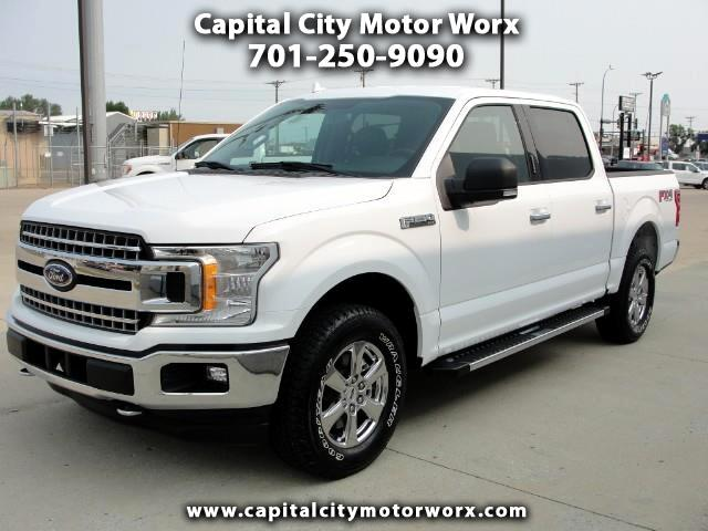 2018 Ford F-150 FX4 SuperCrew 5.5-ft Bed 4WD