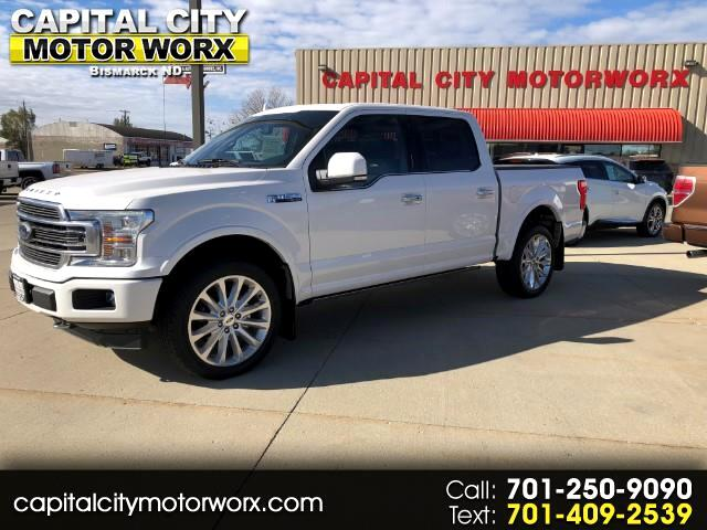"2018 Ford F-150 4WD SuperCrew 145"" Limited *Late Avail*"