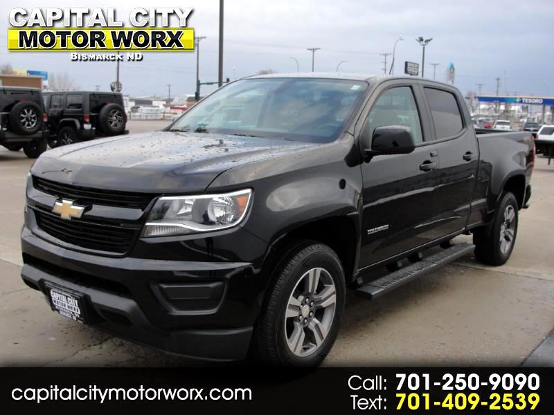 "2018 Chevrolet Colorado 4WD Crew Cab 140.5"" LT"