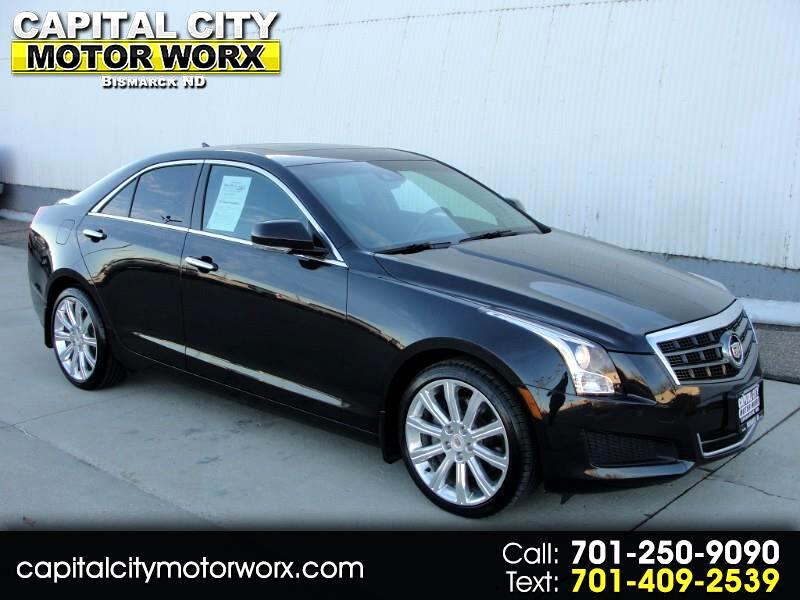 2013 Cadillac ATS Sedan 4dr Sdn 3.6L Luxury AWD