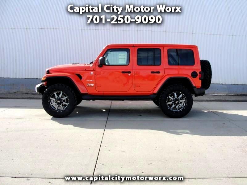Jeep Wrangler JK Unlimited Sahara 4x4 2019