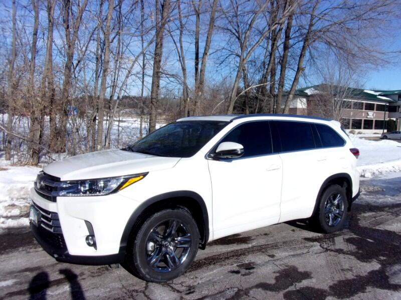 Toyota Highlander Limited Platinum AWD V6 2019