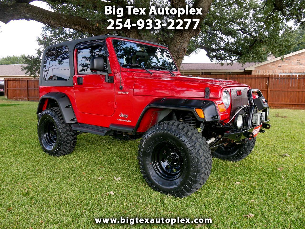 Jeep Wrangler Sport 2003