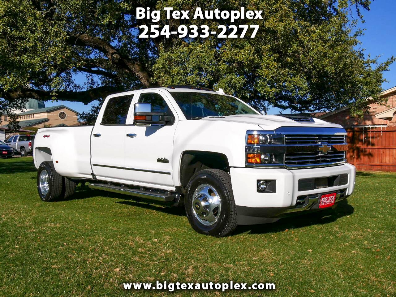 Chevrolet Silverado 3500HD High Country Crew Cab Long Box DRW 4WD 2017