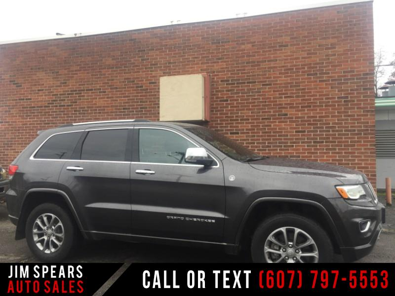 2016 Jeep Grand Cherokee 4WD 4dr Overland Diesel