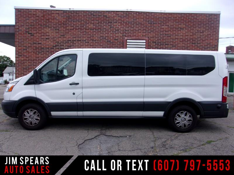 "2018 Ford Transit Passenger Wagon T-350 148"" Low Roof XLT Swing-Out RH Dr"