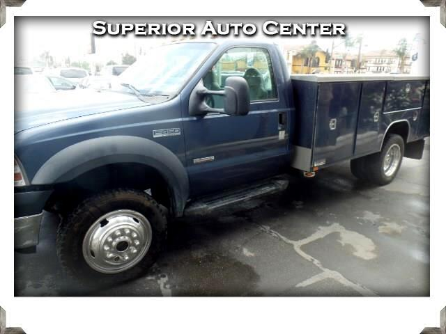 2007 Ford F-450 SD Regular Cab 4WD DRW