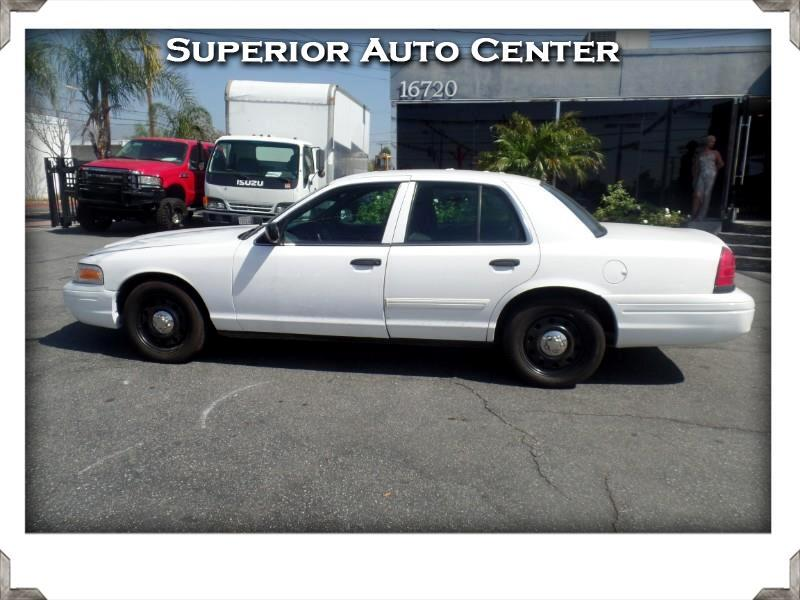 Ford Crown Victoria Police Interceptor 2011