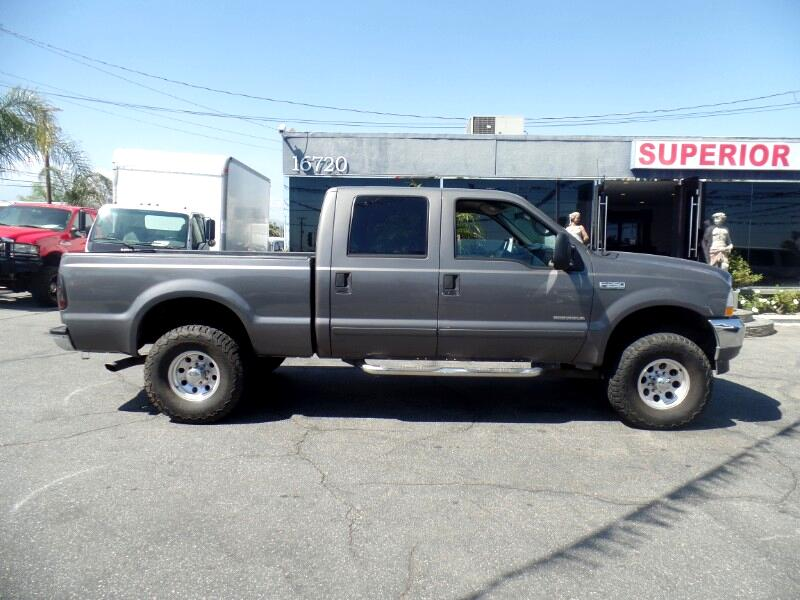 Ford F-250 SD Lariat Crew Cab Long Bed 2WD 2002