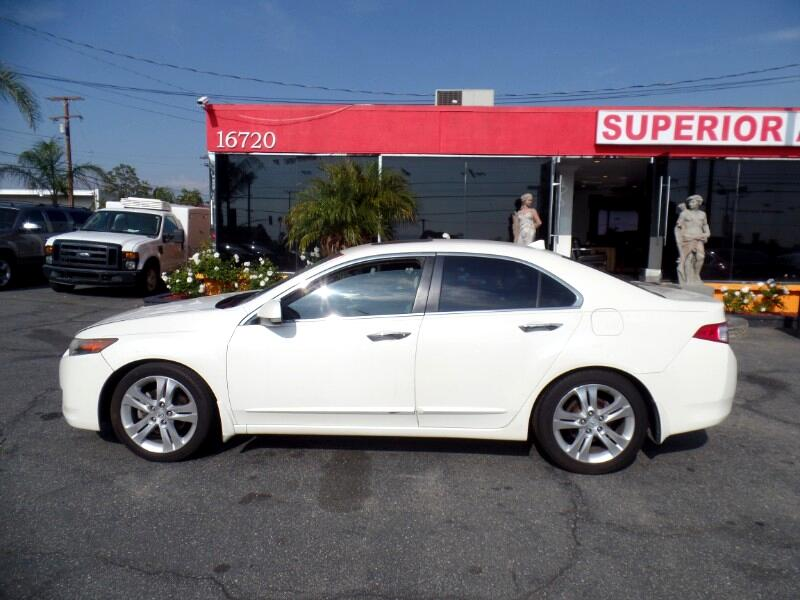 Acura TSX V6 5-Speed AT with Tech Package 2010