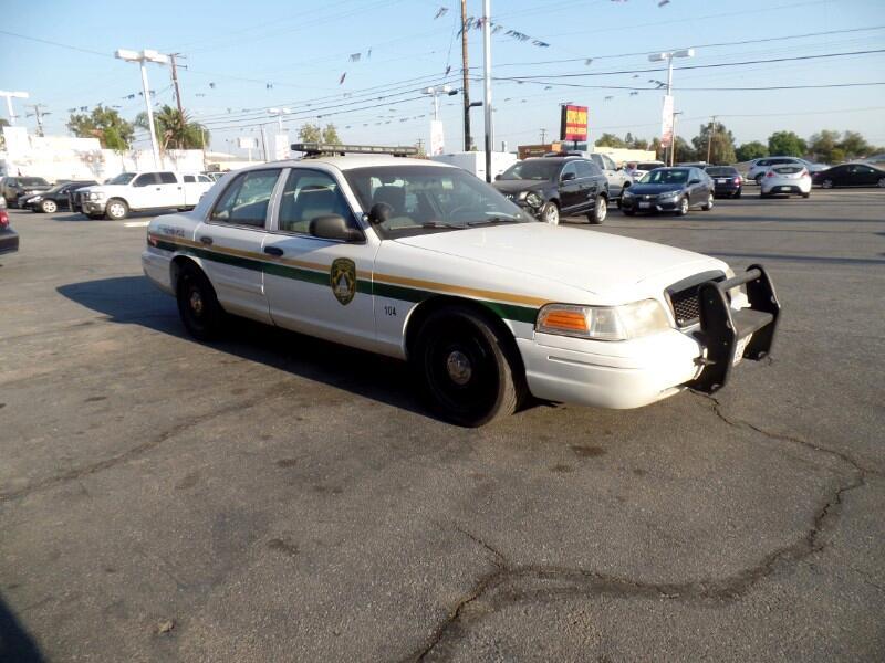 Ford Crown Victoria Police Interceptor 2011