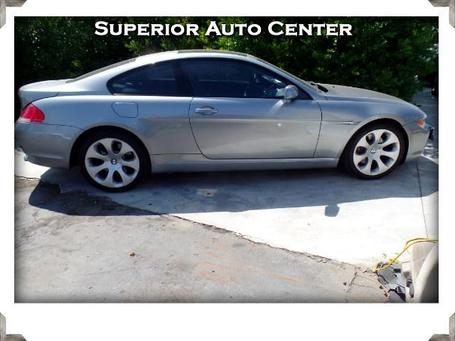 2004 BMW 6-Series 645Ci Coupe