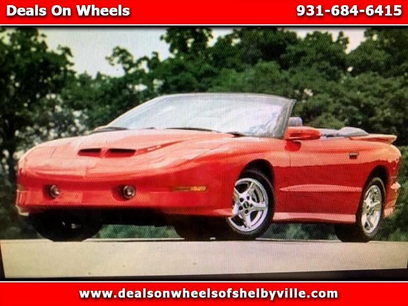 1997 Pontiac Firebird 2dr Convertible Trans Am