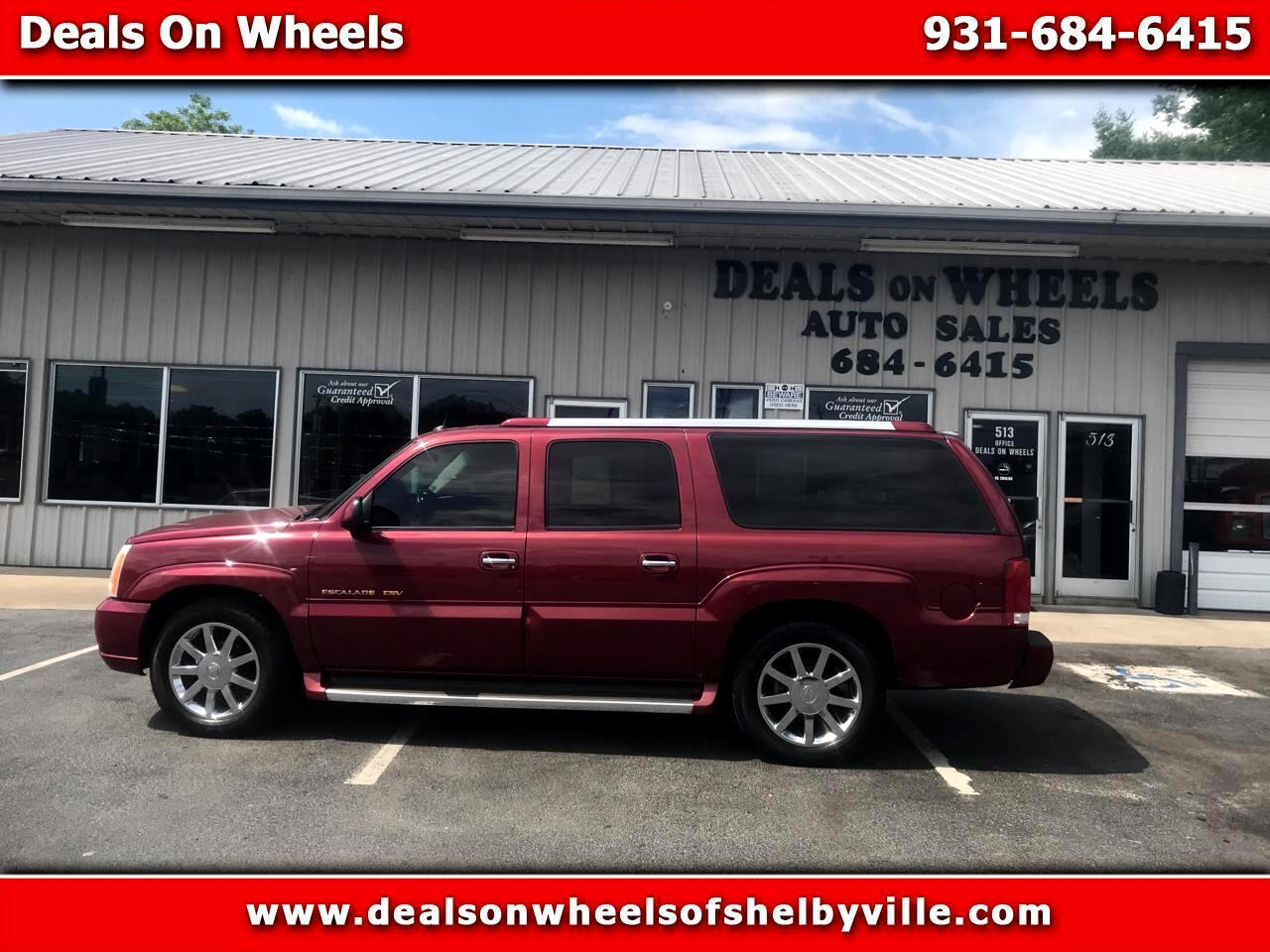 Cadillac Escalade ESV 4dr AWD Platinum Edition 2005
