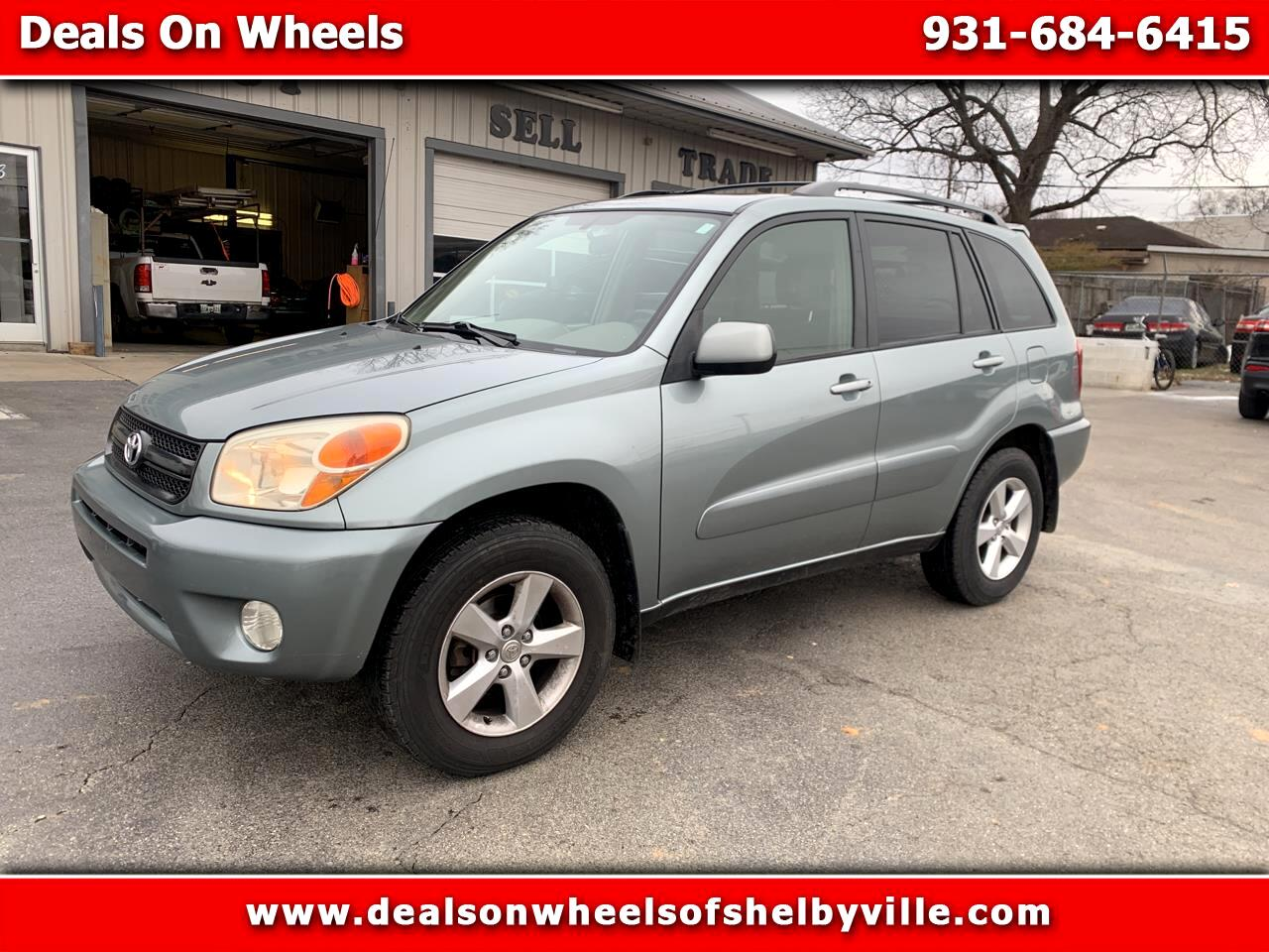 Toyota RAV4 4dr Manual (Natl) 2005