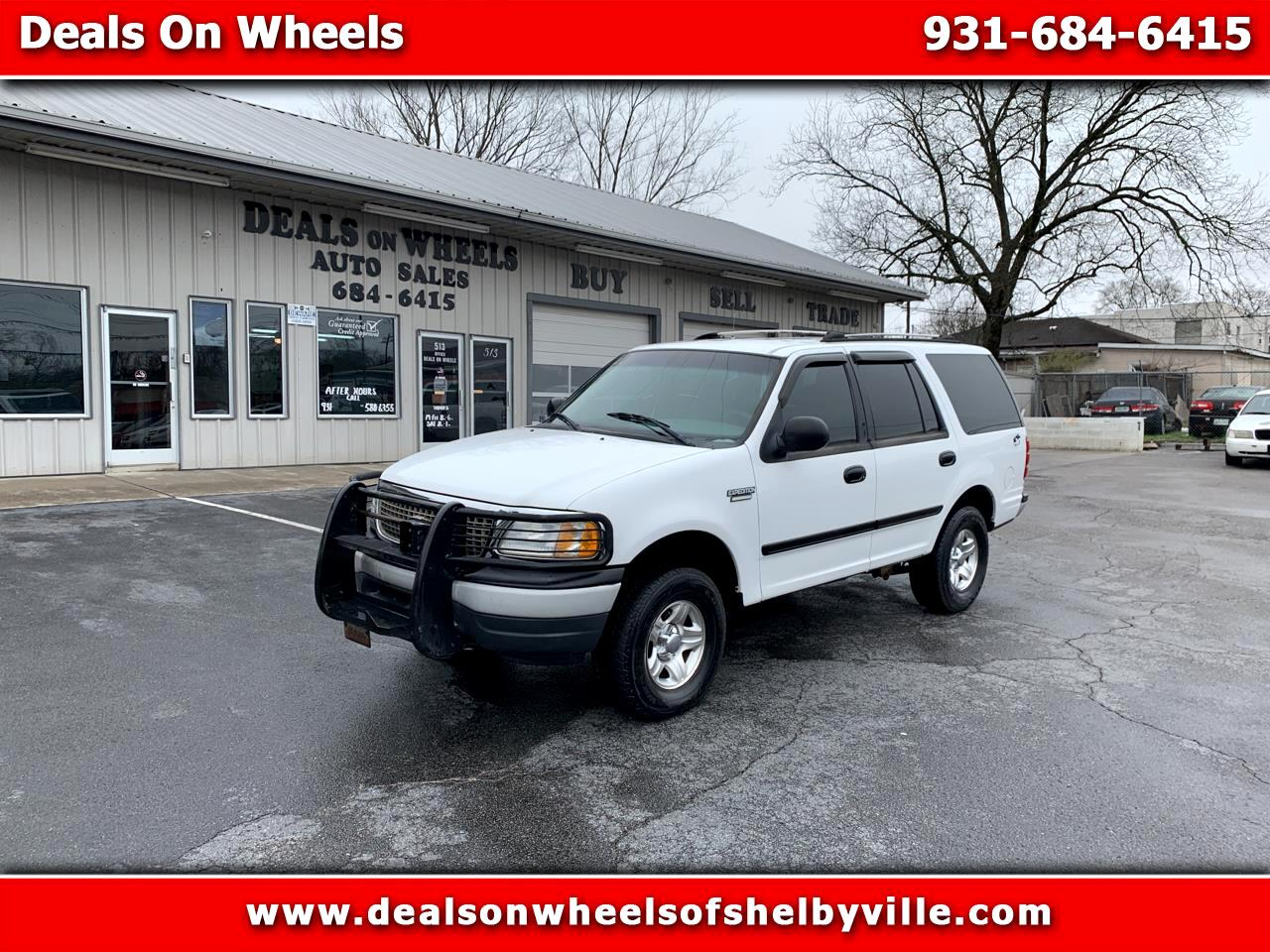 """Ford Expedition 119"""" WB XLT 4WD Special Service 2001"""