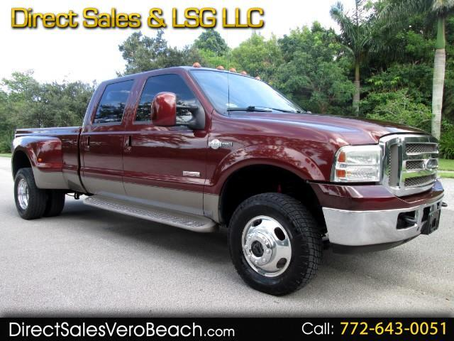 2006 Ford F-350 SD KING RANCH 4WD DRW CREW CAB
