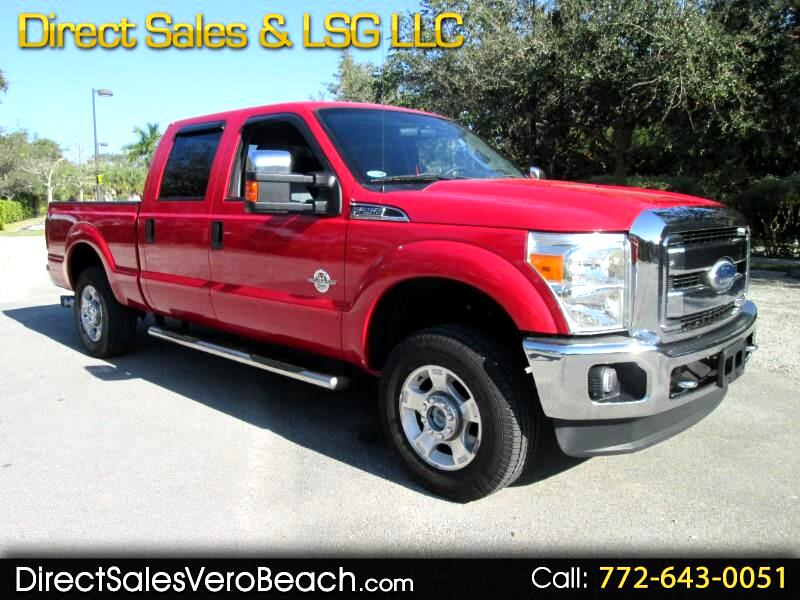 2011 Ford F-250 SD Crew Cab 4WD