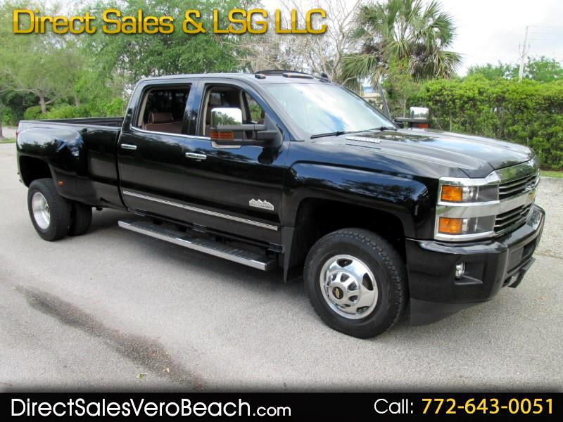 2015 Chevrolet Silverado 3500HD High Country 3500 4WD Crew Cab