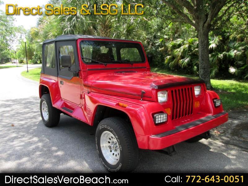1991 Jeep Wrangler Renegade Soft Top
