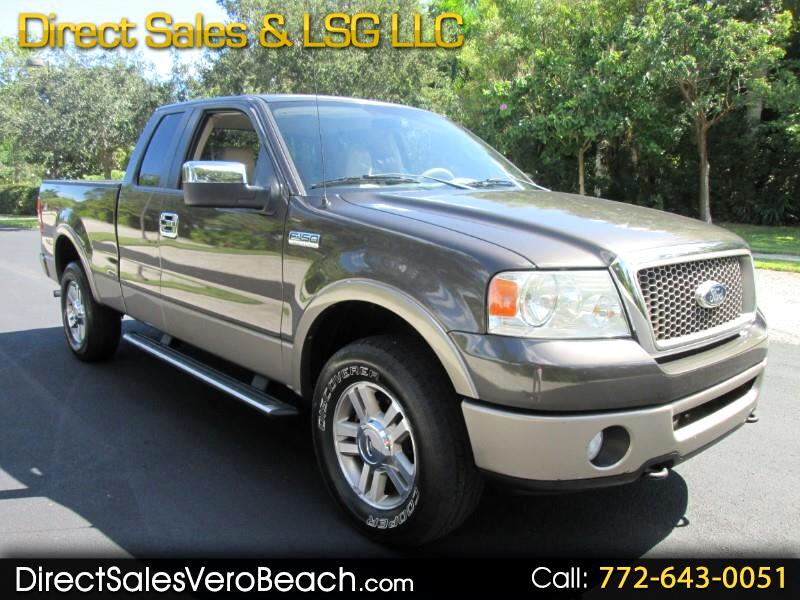 Ford F-150 Lariat SuperCab 4WD 2006