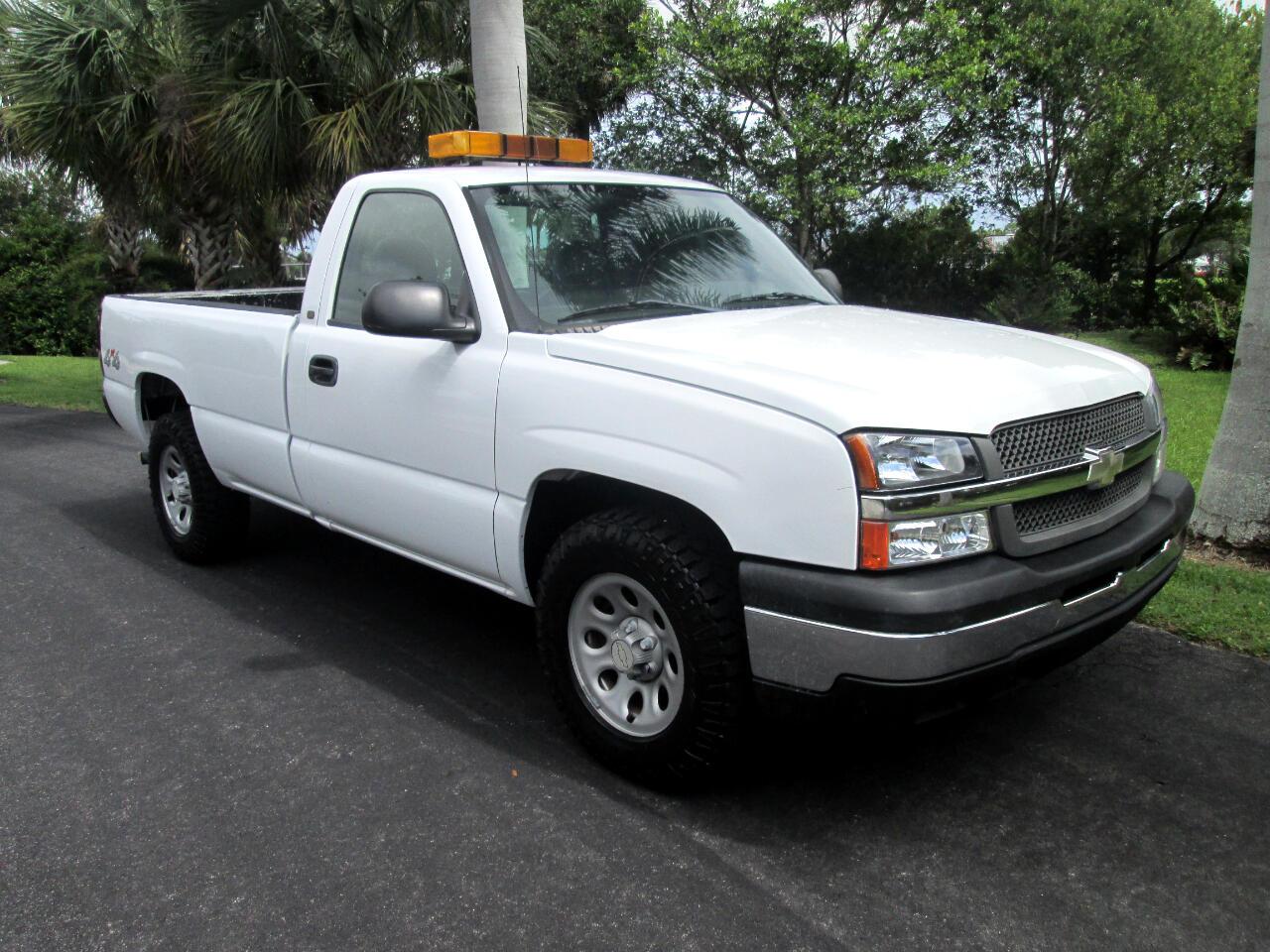 """Chevrolet Silverado 1500 Reg Cab 133.0"""" WB 4WD Work Truck 2005"""