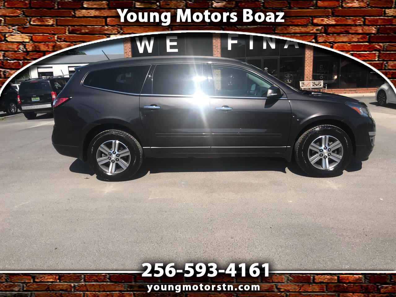 2015 Chevrolet Traverse FWD 4dr LT Leather w/3LT