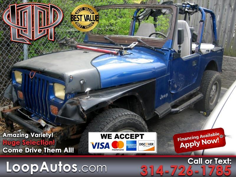 Jeep Wrangler SE 1995