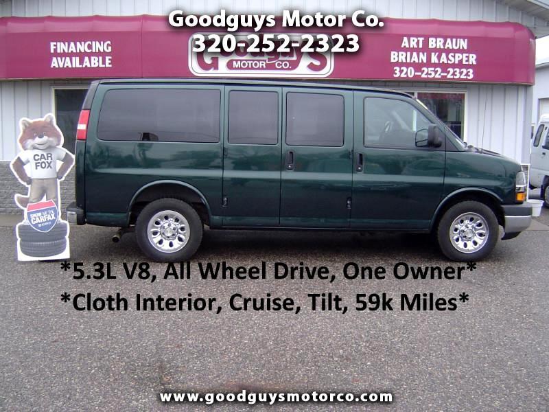 """2009 Chevrolet Express Passenger AWD 1500 135"""""""