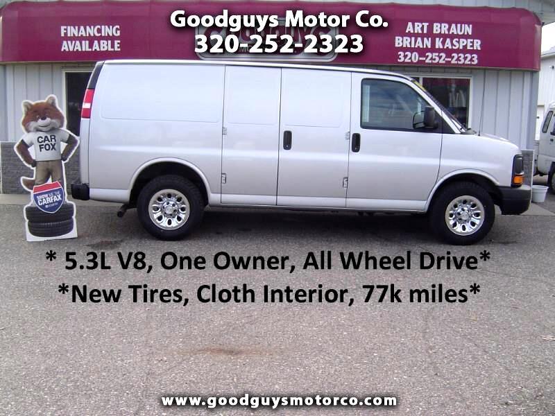 "2014 Chevrolet Express Cargo Van AWD 1500 135"""
