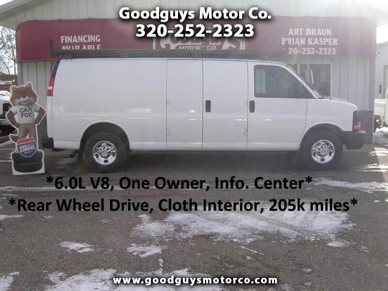 """2009 Chevrolet Express Cargo Van RWD 3500 155"""""""