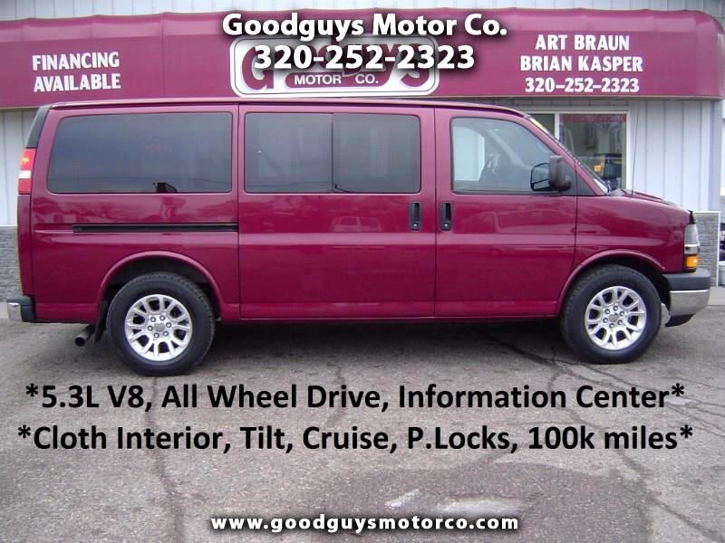 2009 Chevrolet Express Passenger AWD 1500 135