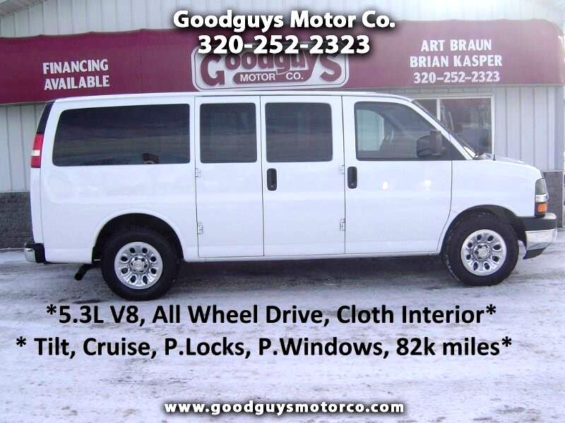 2013 Chevrolet Express Passenger AWD 1500 135
