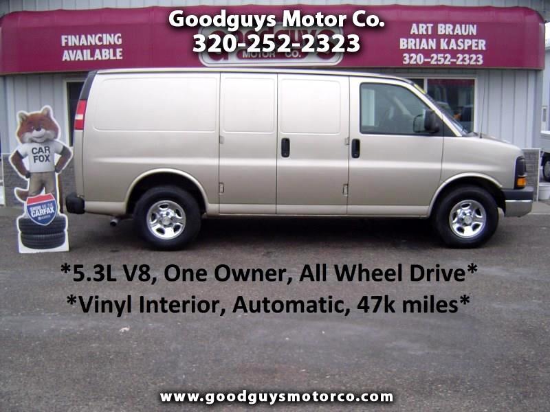 "2007 Chevrolet Express Cargo Van AWD 1500 135"""