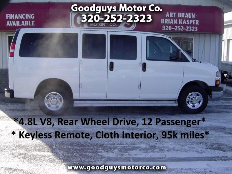 "2012 Chevrolet Express Passenger RWD 2500 135"" 1LT"