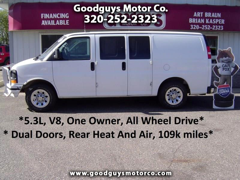 "2013 Chevrolet Express Cargo Van AWD 1500 135"""