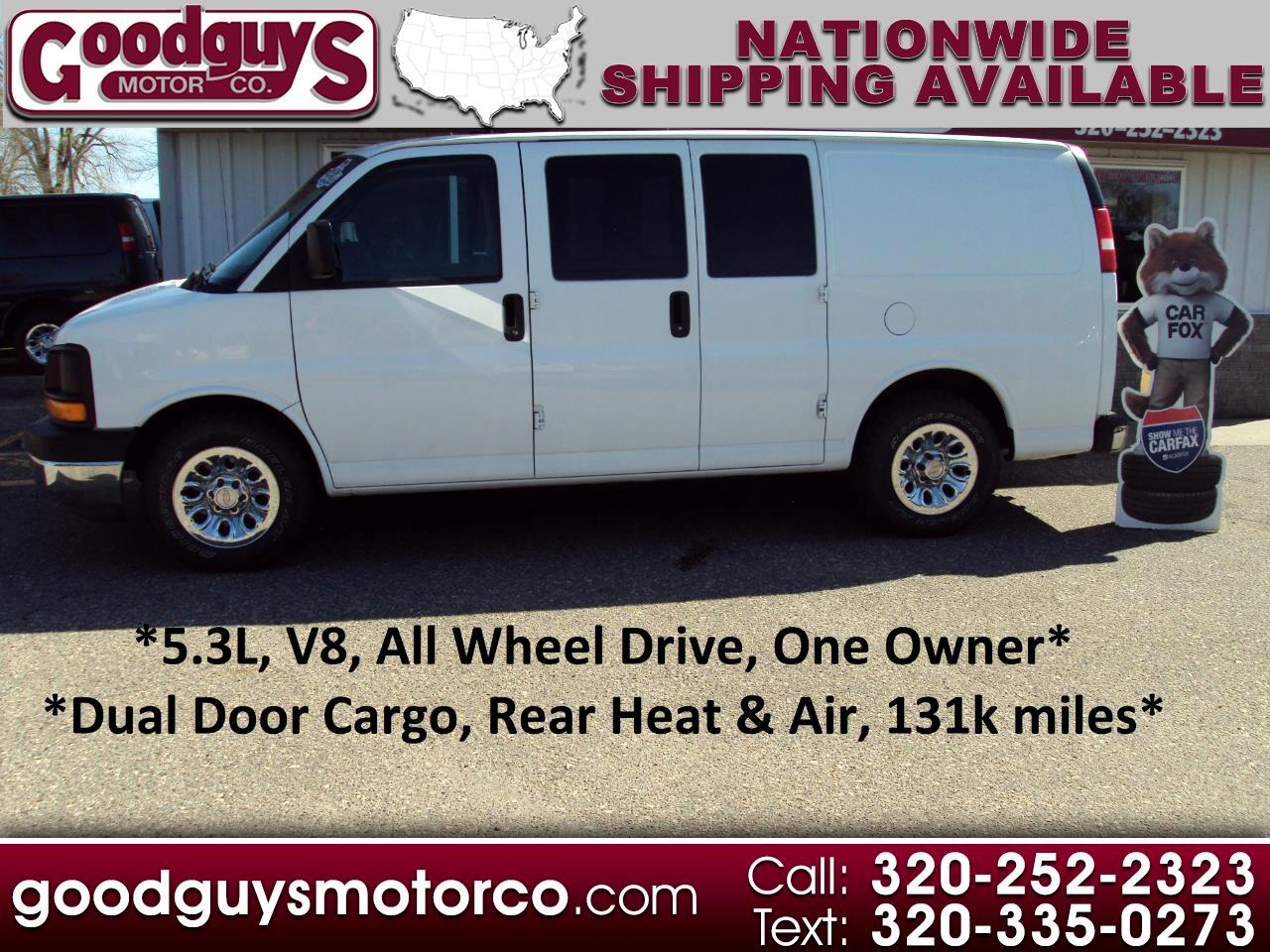 "Chevrolet Express Cargo Van AWD 1500 135"" 2013"