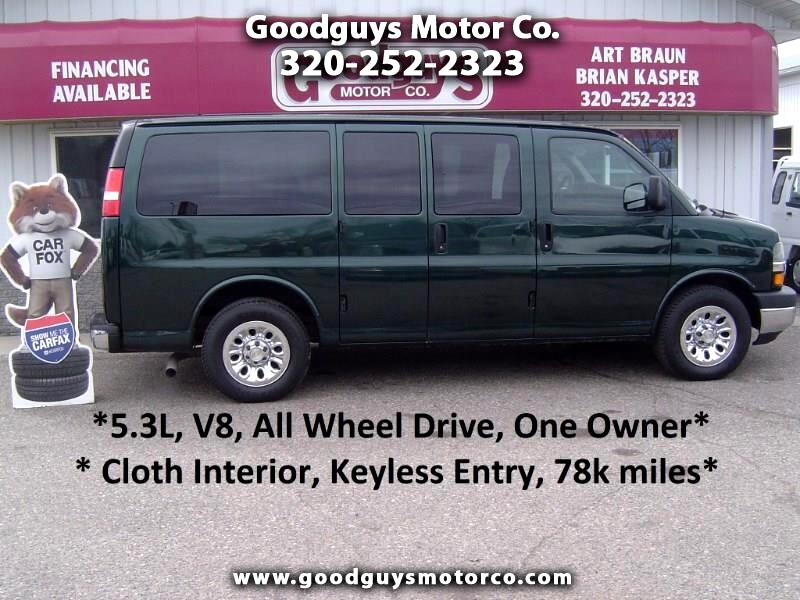 2011 Chevrolet Express Passenger AWD 1500 135