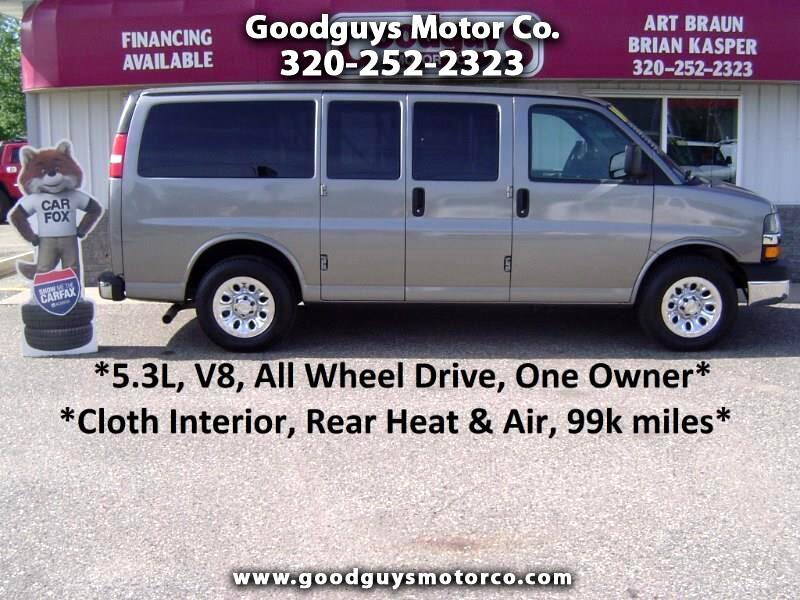 2010 Chevrolet Express Passenger AWD 1500 135