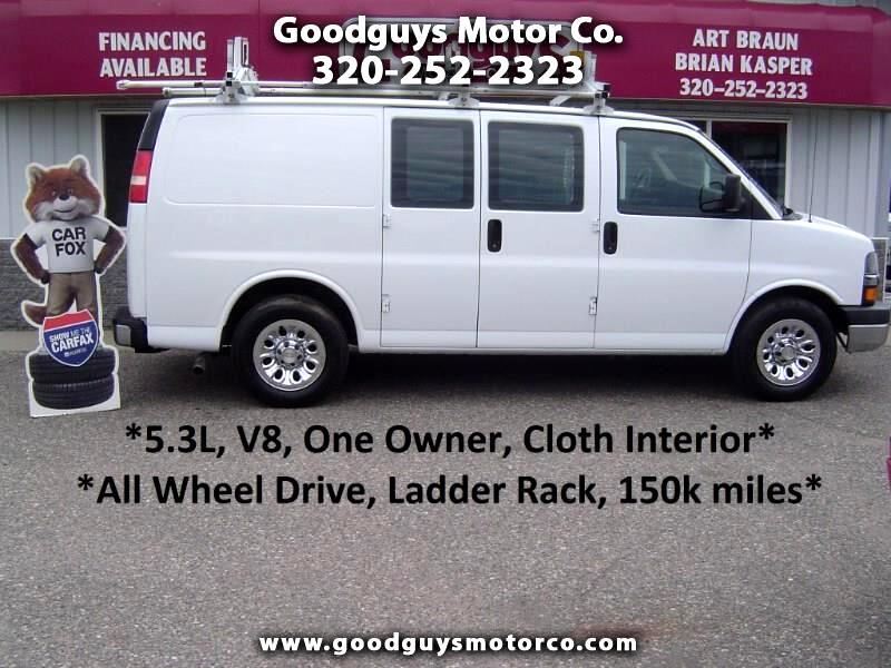 "2009 Chevrolet Express Cargo Van AWD 1500 135"""