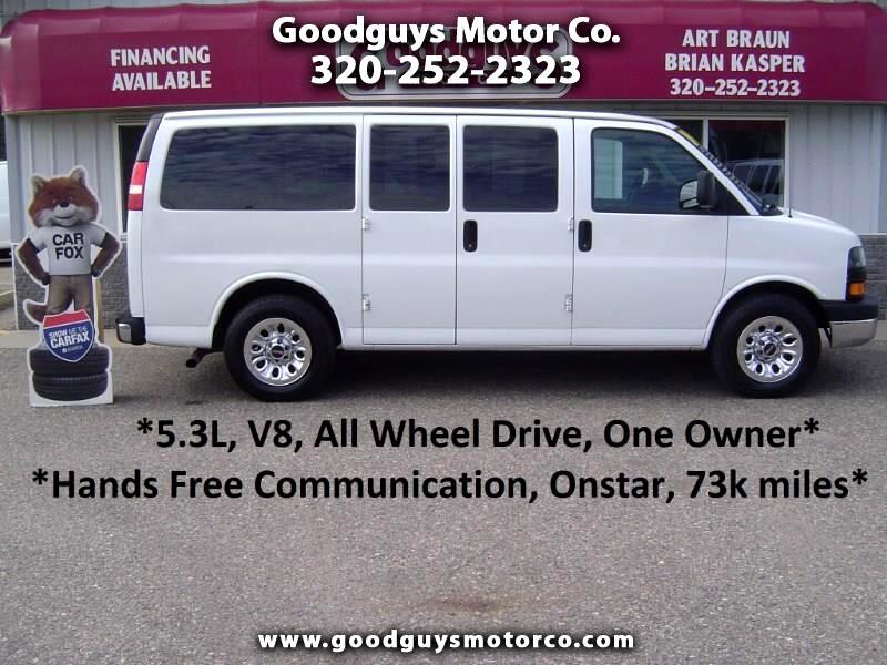 "2014 GMC Savana Passenger AWD 1500 135"" LT"