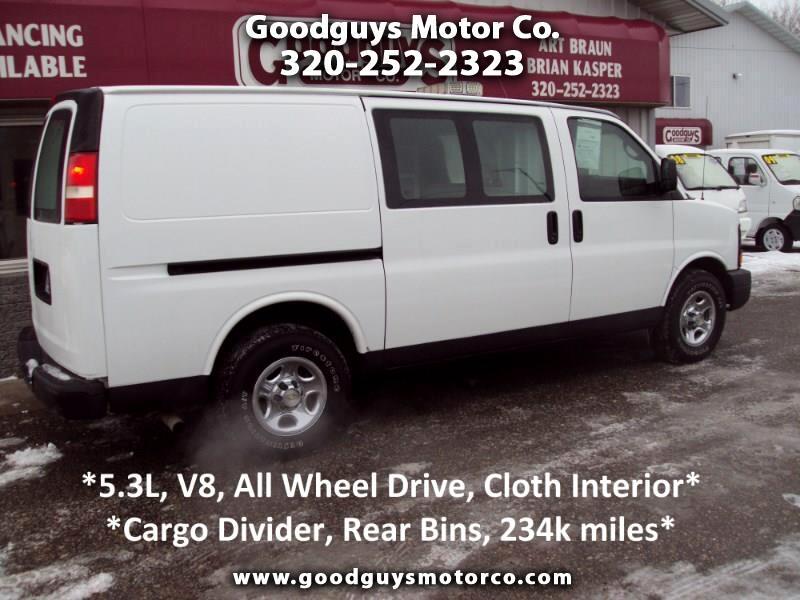 "Chevrolet Express Cargo Van AWD 1500 135"" 2008"