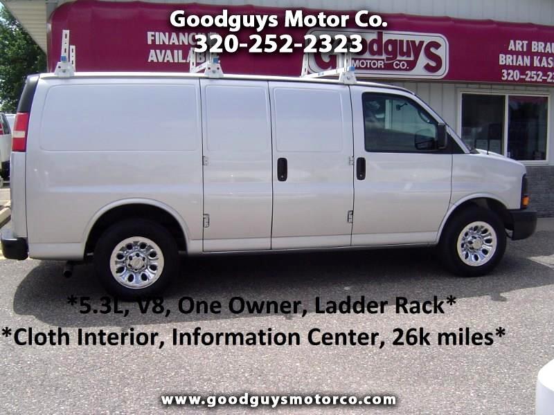 """2011 Chevrolet Express Cargo Van RWD 1500 135"""""""