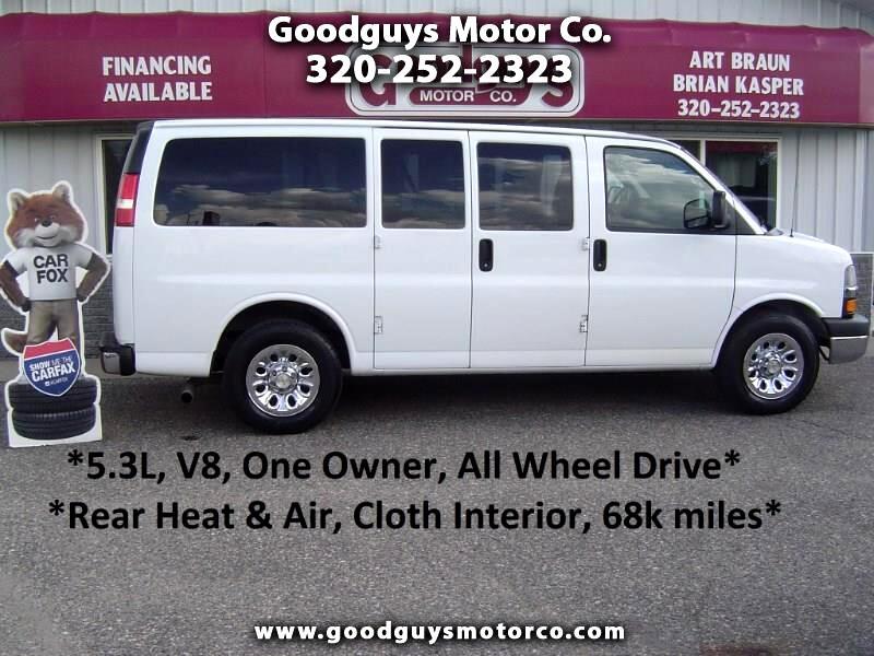 "2013 Chevrolet Express Passenger AWD 1500 135"" LT"