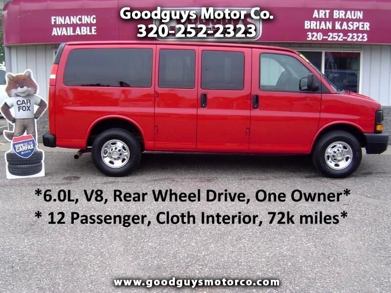 "2013 Chevrolet Express Passenger RWD 2500 135"" LS"