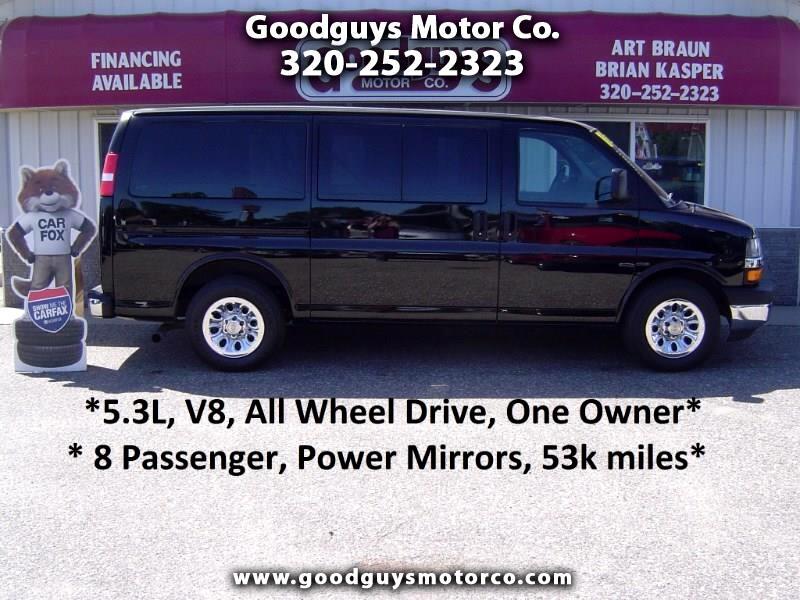 "2011 Chevrolet Express Passenger AWD 1500 135"" 1LT"