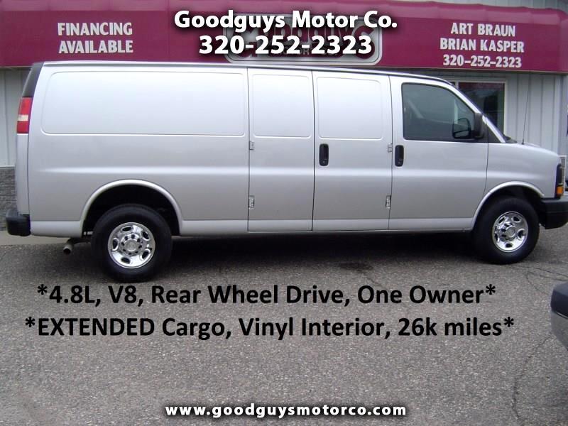 2012 Chevrolet Express Cargo Van RWD 3500 155
