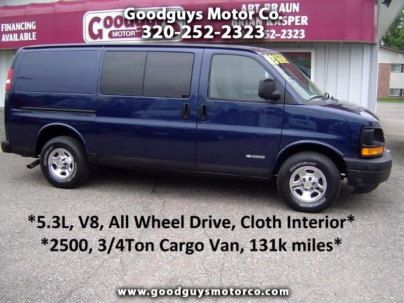 2003 Chevrolet Express Cargo Van 2500 135
