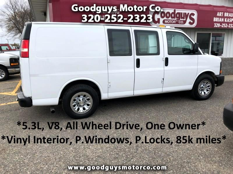 "Chevrolet Express Cargo Van AWD 1500 135"" 2012"