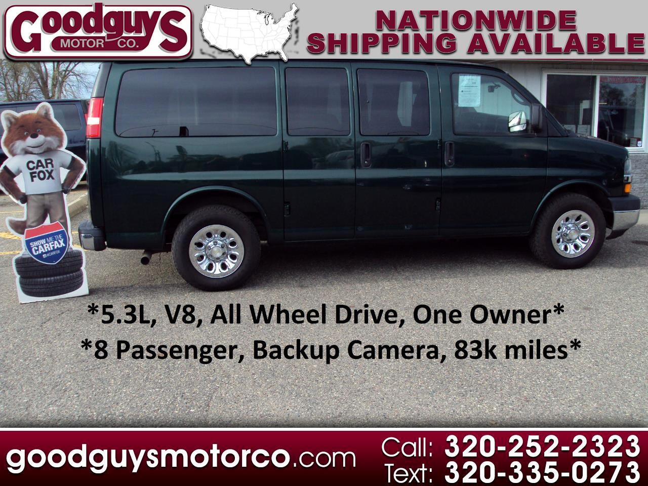"Chevrolet Express Passenger AWD 1500 135"" LT 2014"